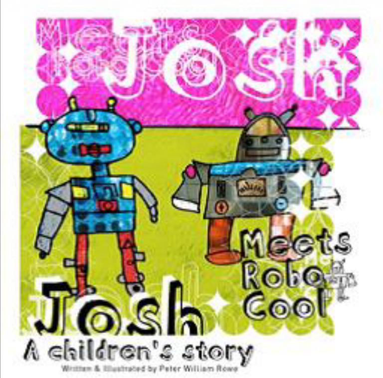 Josh Meets Robo Cool by Peter Rowe