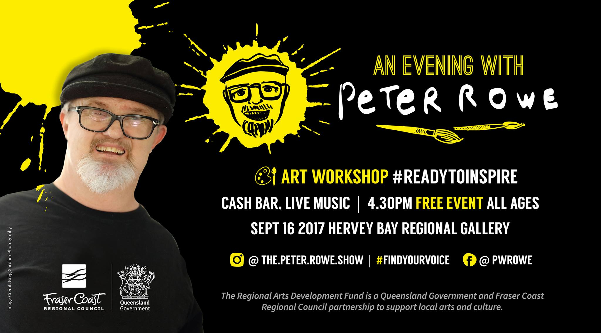 An evening with Peter Rowe